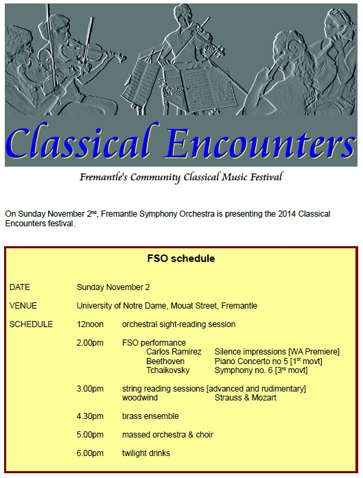 Classical Encounters 2014